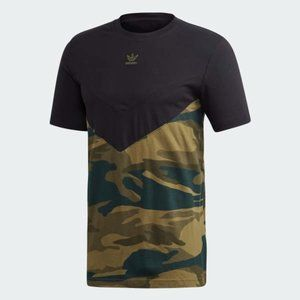 Adidas FM3356 Camouflage Block Tee Shirt
